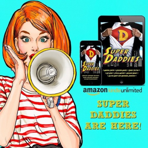 Supper Daddies tablet banner